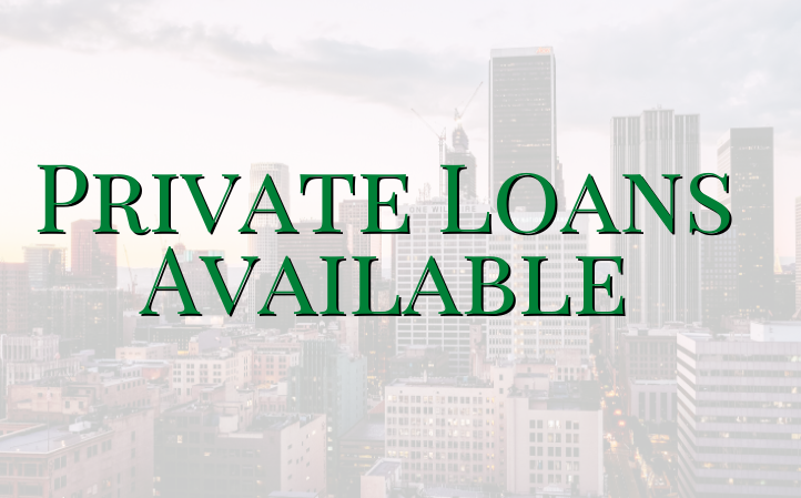 Private Loans Available